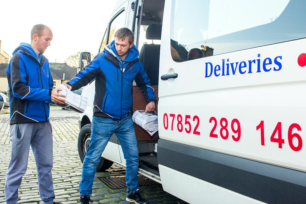 Distribution Service in Edinburgh
